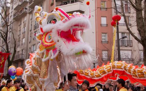 Chinese New Year 2015 in Paris