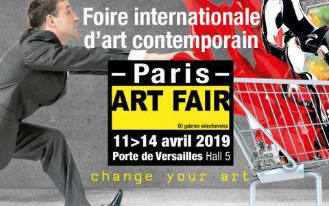 Paris Art Fair at Porte de Versailles
