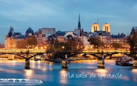 Bateaux Parisiens !!! Unforgettable dinner cruise For New Year's Eve in Paris !