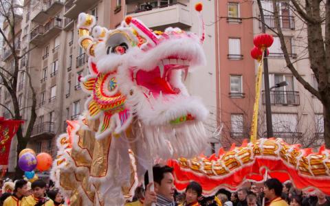 Nouvel an chinois à Paris