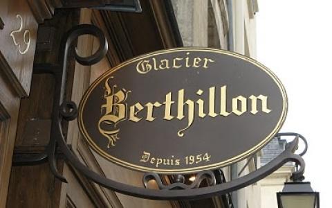 French ice-creams Berthillon