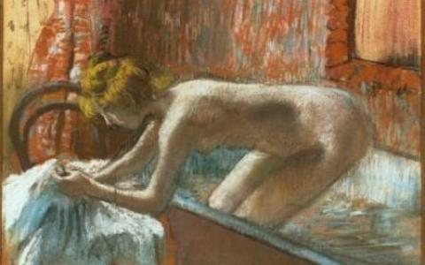 Degas and the nude at the Orsay Museum