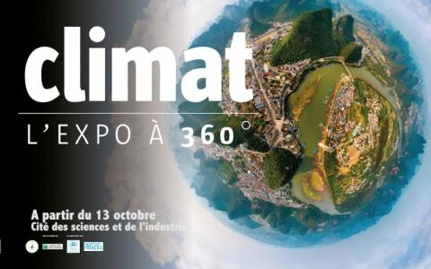 Climat L'expo à 360°, the exhibition at the Cité des Sciences et de L'Industrie