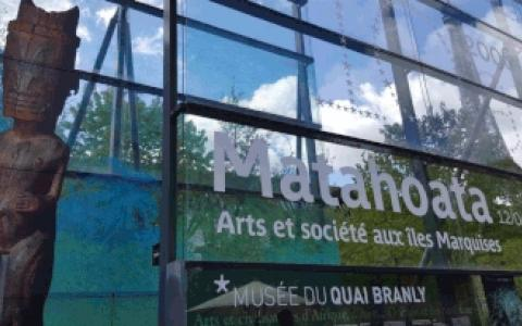 Matahoata, Arts and Society in the Marquesas Islands : Exhibition at Musée du quai Branly