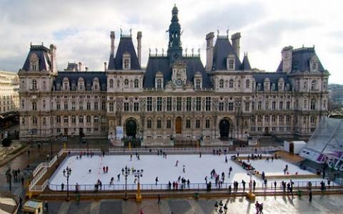 Les Patinoires de Paris