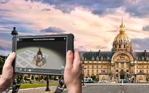 Get a Different View with Paris City Vision Augmented Reality Tours