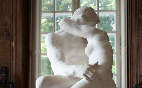 Rodin Museum; Valentine's Day evening and a stroll through the gardens