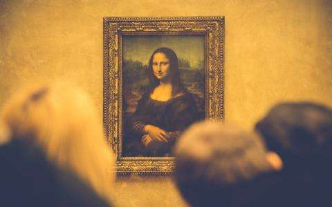 A huge event; Leonardo da Vinci at the Louvre Museum