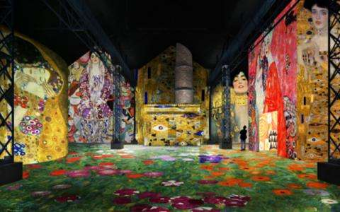 Gustav Klimt : The Immersive Exhibition at L'Atelier des Lumières